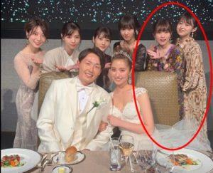 衛藤美彩 西野七瀬 結婚式 マナー 衣装