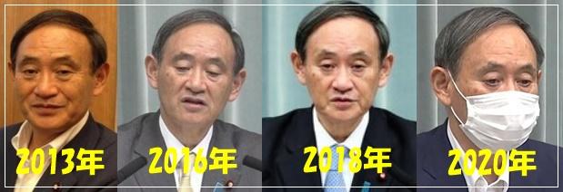 菅官房長官 かつら 増毛