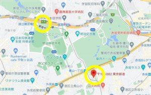 渋谷区地図