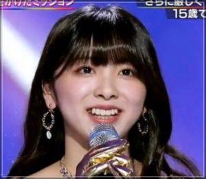 ミイヒ 笑顔 黒髪 オーディション 大場久美子似てる