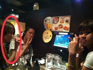 松山和真 飲酒