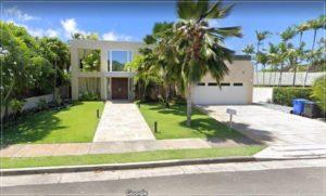 赤西仁のハワイの家