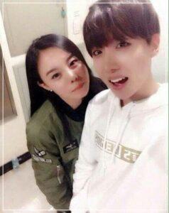 BTS J-HOPE 彼女